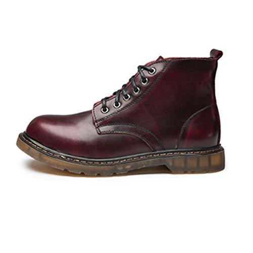 Heren Jurk Schoenen Oxford Laarzen Klassieke Lace Up Schoenen Hoge Top Enkellaarzen voor Heren Oxfords Duurzame oxford schoenen