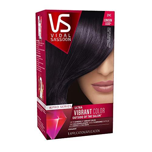 Vidal Sassoon Pro Series Permanent Hair Dye, 2VC Oxford Violet Onyx Hair Color, 1 Count