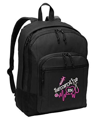 Nurse 3 Personalized Embroidered Backpack