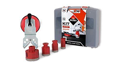 Rubi 50917 Kit 4 brocas DRYGRES, Gris