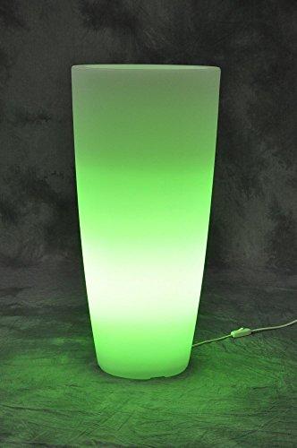 ACCUEIL lumière ronde VASE CM.33X33X70 glace / VER