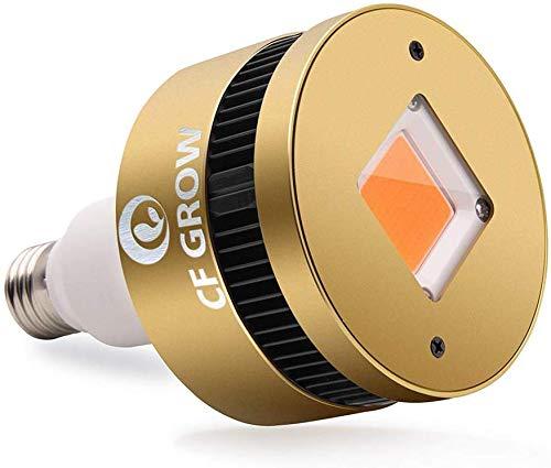 Pflanzenlampe COB LED 150W Pflanzenlicht Glühbirne E27 Pflanzenleuchte CFGROW Vollspektrum Wachstumslampe für Zimmerpflanzen, Zelt Wachsen, Hydroponische Pflanzen und Gemüse