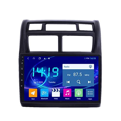 Dscam Car Stereo Android 9.1 Cuatro Núcleos Coche Autoradio GPS Navegación para Kia Sportage 2007-2013 | 9 Pulgada | Pantalla LCD Táctil | USB | WLAN | 4.0 Bluetooth