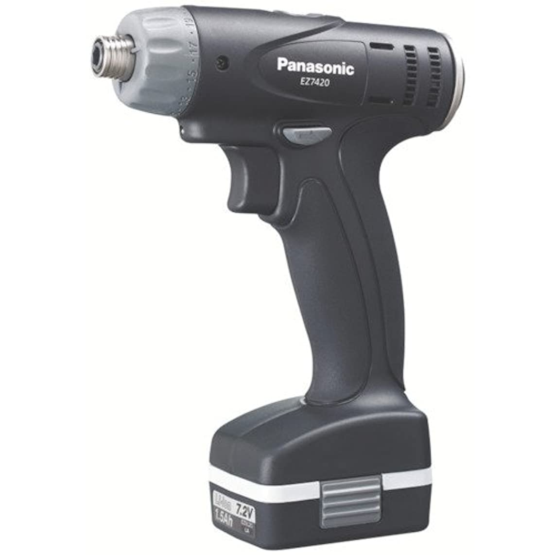 カカドゥ存在する雰囲気Panasonic(パナソニック) 充電 ドリルドライバー ブラック EZ7420LA2S-B