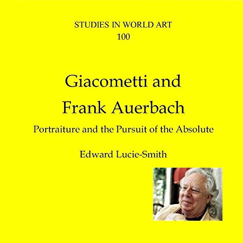 Giacometti and Frank Auerbach  By  cover art