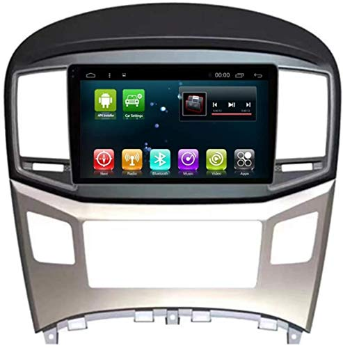 Lour Autoradio GPS Navi Android 8.1 für Hyundai H1 Startex Royale Travel Cargo 2007-2013 Multimedia Player Head Unit WiFi Stereo Navigation (Android8.1 4 + 64G für H1),Android8.1 2 + 32G für H1