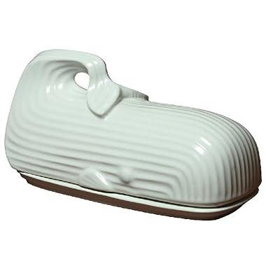 Jonathan Adler Whale Butter Dish, White