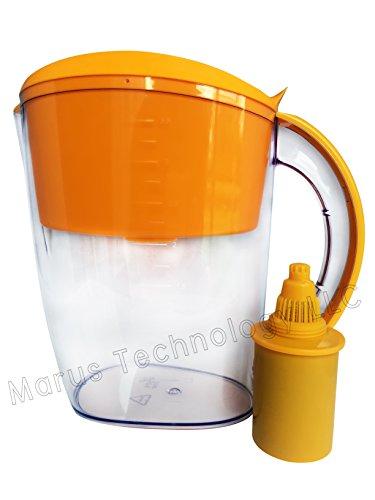 Alkaline Water Pitcher 3.5L Mineral Water Orange