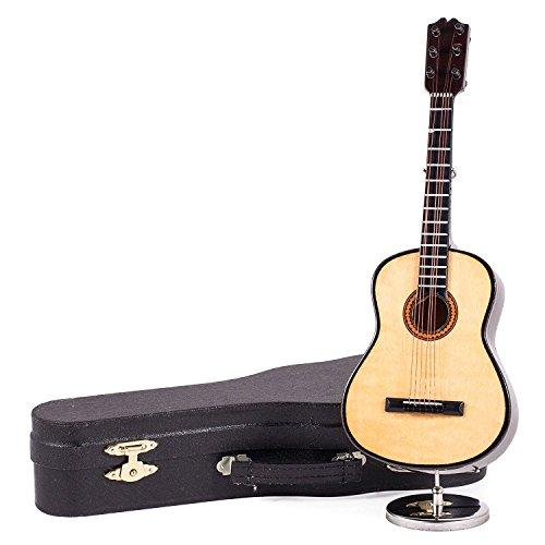 22.86 cm, Classic Steel-String Gitarren-Spieluhr und Schwarz spielt Hey Jude