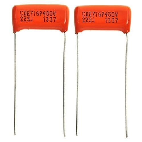 D65 5 Pairs .022uf 100v 223J Tone Capacitors For Guitar //Bass //Amp