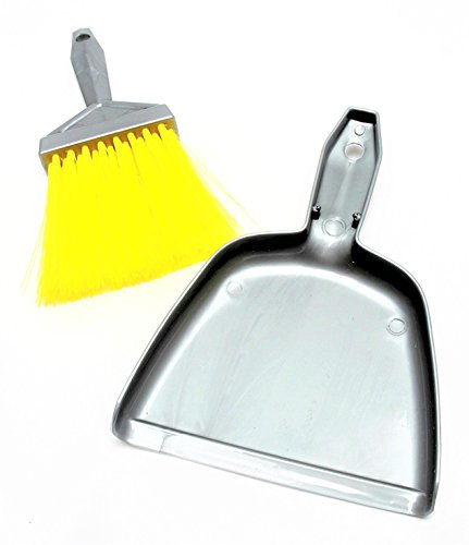 Mr. Clean Mini-Sweep Compact Dustpan And Brush Set , Colors may vary