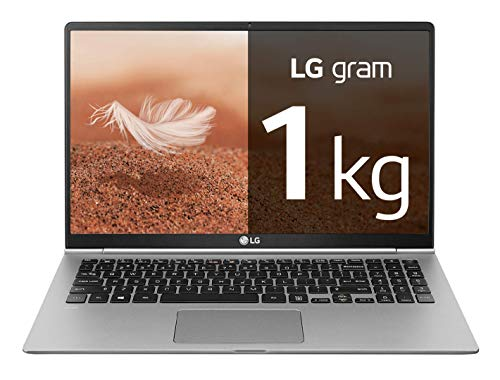 "LG gram 15Z990-V - Ordenador portátil ultrafino - 39.6 cm (15.6"") - FHD IPS (1 kg, autonomía 21.5 h, Intel i7 8ª generación, 16 GB RAM, 512 GB SSD, Windows 10 Home) Plata - Teclado QWERTY Español"