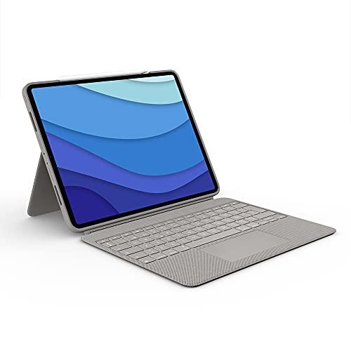Logitech Combo Touch Funda con Teclado para iPad Pro 12,9 pulgadas (5a...
