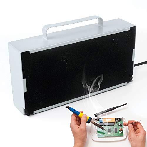 Solder Smoke Absorber Remover Fume Extractor Soldering Fan for DIY Working Soldering 3D Printing
