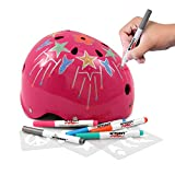 Wipeout Dry Erase Kids Helmet for Skate