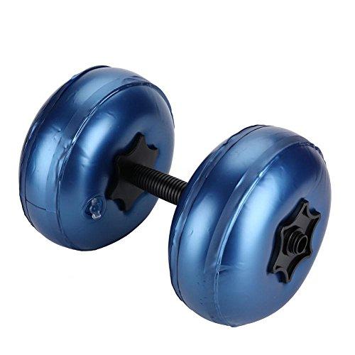 VIFER Mancuernas Mancuernas Ajustables con Mancuernas Llenas de Agua Conjunto de Equipo de Mancuernas de Fitness Ecológico(8-10kg-Azul)