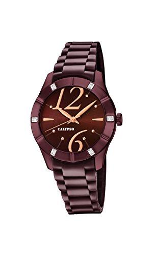 Calypso Reloj Análogo clásico para Mujer de Cuarzo con Correa en Plástico K5715/5