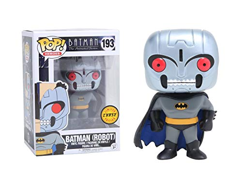 Batman The Animated Series Robot Batman Chase Variant Figure
