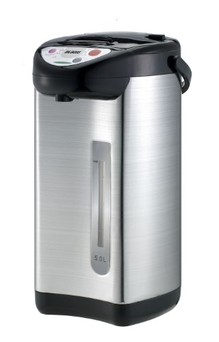 Big Boss 8789 Hot Water Dispenser-Stainless Steel, Black, 5 Liter