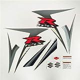 Decoración de la Motocicleta Motocicleta para Suzuki G-SXR 600 750 GSXR600 GSXR750 06-07 K6 K7 2006 2007 Kit Completo Pegatina Calcomanía Protector Decorativo (Color : 4 Style)
