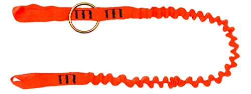 TreeUp Chainsaws Strop AY 053, Tool Rope Attachment Rope Forestry Accessories 1,3 m (Neon Orange)