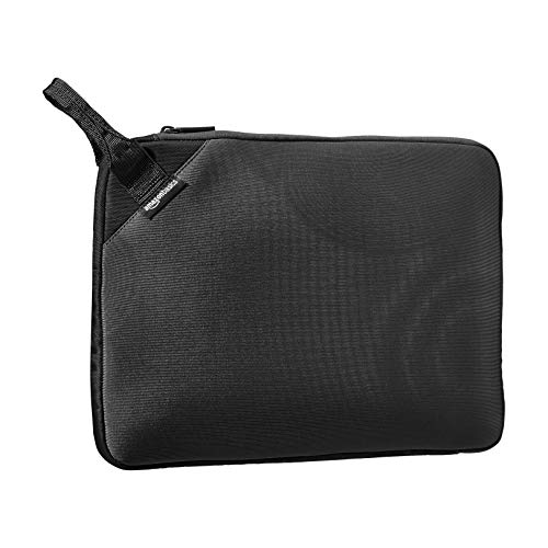 "Amazon Basics - sleeve Executive per laptop da 13"" (con manico) - nero"