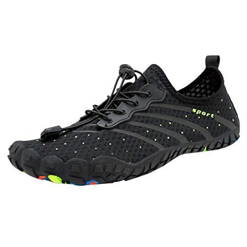 FAMILIZO Zapatillas Mujer Running Zapatillas Deportivas De Mujer Sneakers Women Primavera Las Parejas De Ocio Playa Natación Zapatos Rápidos-Dry Cordón Creek Zapatos De Buceo