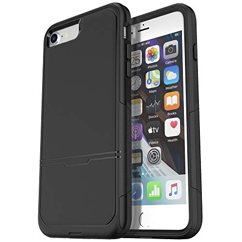 Krichit Pioneer Series Compatible with iPhone SE 2020 Case/iPhone 8 Case/iPhone 7 Case,Dual Layer Design,Military Grade Drop Protection Protection Case, Pioneer Series Rugged Phone Case