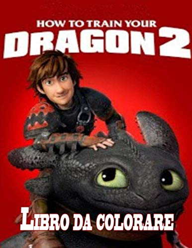 How To Train Your Dragon libro da colorare