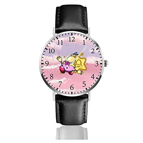 星のカービィ カービィ Kirby 腕時計 レディース ビジネス 時計 ファッション カジュアル かわいい おしゃれ レディースウォッチ メンズウォッチ 多機能 耐衝撃 通勤 宴会 平日 成人祭 プレゼント 高級 男女兼用