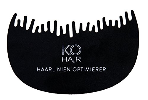 Kö-Hair haarlijn, geoptimaliseerd voor Kö-Hair Fibers, haarcompressor, haarverdichting, haarverdichting, strooihaar voor licht haar en gedeeltelijke gladheid voor haarverdichting