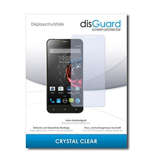 disGuard® Bildschirmschutzfolie [Crystal Clear] kompatibel mit UMI Hammer S [4 Stück] Kristallklar, Transparent, Unsichtbar, Extrem Kratzfest, Anti-Fingerabdruck - Panzerglas Folie, Schutzfolie