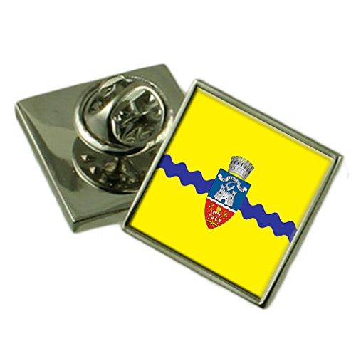 Select Gifts La Ciudad de Arad Rumania Bandera Insignia de Solapa Cuadro Grabado