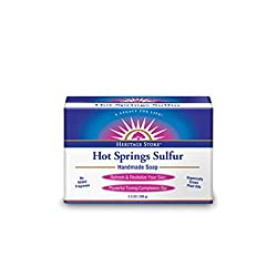 Heritage Products Hot Springs Sulfur Handmade Soap