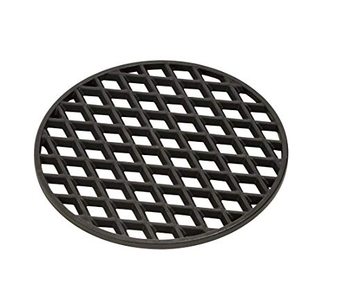 Dehner Steakrost für Kugelgrill, Ø 30.5 cm, Gusseisen, schwarz