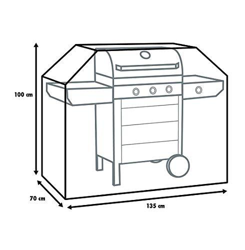 Primaster Schutzhülle Universal für Gasgrills und Grillwagen Grillabdeckhaube
