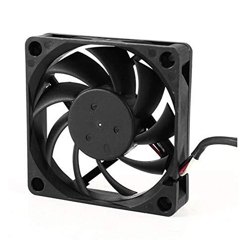 NINGXUE-MAOY 70mm X 15 Mm 3pin DC 12V PC Sin Escobillas CPU Refriador Cooler Cooler