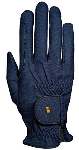 Roeckl Roeck Grip Handschuh, Unisex, Reithandschuh, Marine, Größe 6,5