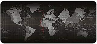 Large Gaming Mousepad World Map Game Mouse Pads (40cm X 900cm) Mat Laptop Rubber Computer PC Mouse Fashion Office Desk Pad...