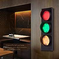 交通 信号ライトプラグインのレトロな産業用LED交通 信号灯器 ンジケーター-子供の寝室、装飾、パーティー、お祝い事、娯楽室で使用