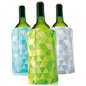 Vacu Vin Rapid Ice Wine Cooler – Set of 3 – Diamond...