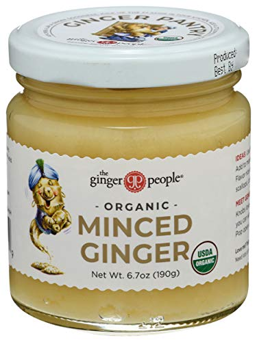 Ginger People Organic Minced Ginger — 6.7 oz