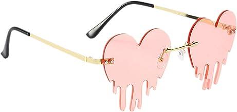 Litcom Frameloze persoonlijkheid zonnebril mode trend metalen trimmen bril voor winkelen reizen partij
