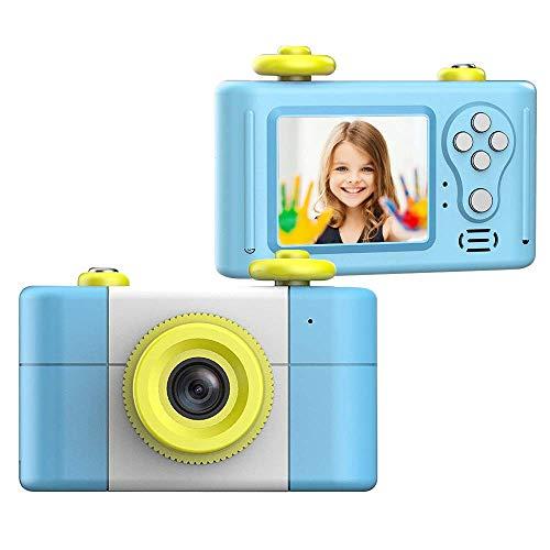 CamKing Kids Digitalkamera, Kinder-Videokamera HD1080P 1,5-Zoll-Bildschirm Kinder Foto / Video-Kameras für Kinder Digital Video Camcorder (Blau)