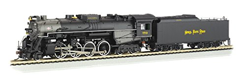 Bachmann Industries Trains 2-8-4 Berkshire Dcc Sound Value Equipped Nickel Plate #759 Ho Scale Steam Locomotive