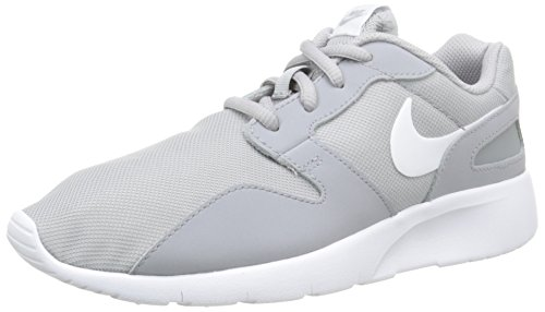 Nike Unisex-Kinder Kaishi (GS) Low-Top, Grau (008 WOLF GREY/WHITE), 39 EU