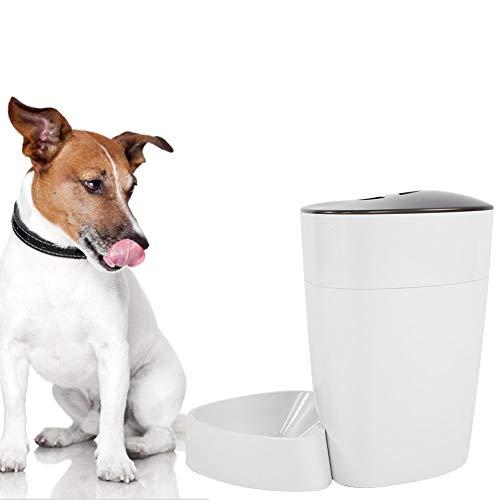 Qinlorgon USB Intelligent Feeder, integrierte Tasten IntelligentFeeder, für Haustiere