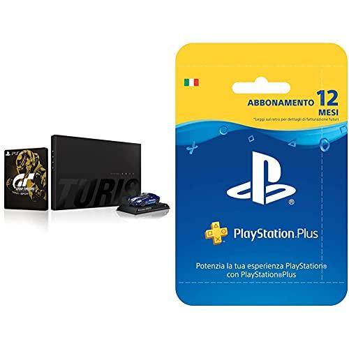 Sony Videogioco Gran Turismo Sport Special Collector'S Edition Playstation 4 & Playstation Plus Card Hang Abbonamento 12 Mesi
