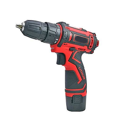 Home Hand Tools Rechargeable Hand Drill, Multi-Function Lithium Screwdriver Industrial Grade Hand Tool Robust Tool