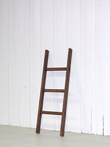 強度・耐久・安定性抜群!通常木製梯子(はしご)3段1.17m アンティーク風 ハシゴ・ラダー・踏み台・青竹ふみ